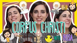 Spanish CORPUS CHRISTI Words with Rosa!