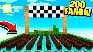 200 FANÓW VS TOR ŚMIERCI 2 | Minecraft Skyblock S3 #16