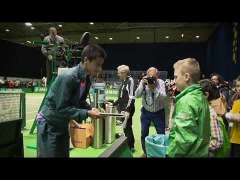 ABN AMRO World Tennis Tournament Wildcardactie - compilatie 2013