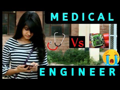 Medical rocks Vs Engineering students |Funny| Hindi |Vine| by medical student 5 star medicoz