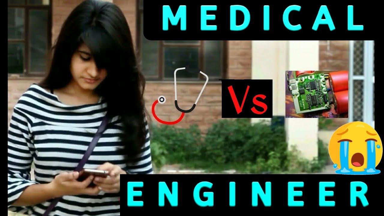 Medical vs Engineering |Student Life |Funny|5star Medico