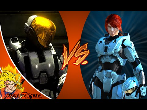 Meta VS Carolina _ Red VS Blue + DEATH BATTLE! REACTION!!!