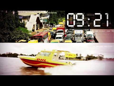 DHL's unique boat service solution in Lagos, Nigeria