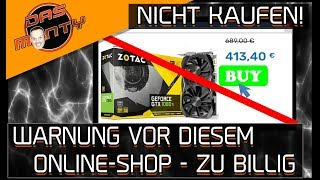 GTX 1080Ti für 413 Euro??? - Kauft nicht bei diesem Online-Shop - Gamingkoenig | DasMonty - Deutsch