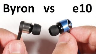 AUDIOPHILE: SoundMAGIC e10 vs Beyerdynamic Byron - Under £50 IEMs comparison