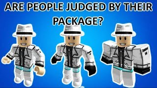Are People Treated Differently By Their Package? [ROBLOX SOCIAL EXPERIMENT]