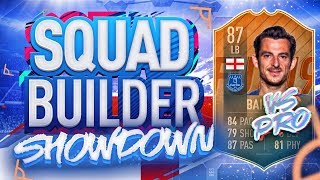 SQUAD BUILDER SHOWDOWN VS A PRO FIFA PLAYER!!! FLASHBACK LEIGHTON BAINES VS HASHTAG HARRY!!!