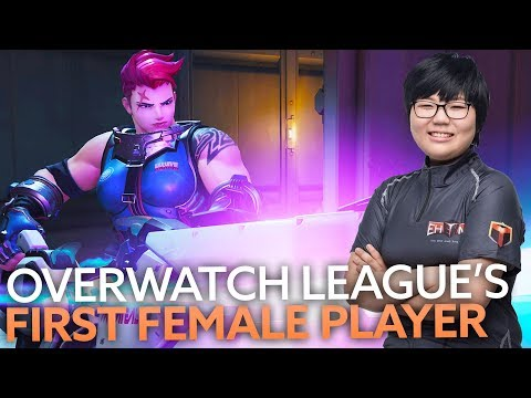 Female Zarya main Geguri has reportedly joined the Overwatch League's Shanghai Dragons