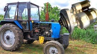 Стартер на ЮМЗ-6 вместо пускача. Модернизация ЮМЗ ''Полный Фарш'' ч. 2. #СельхозТехника №23