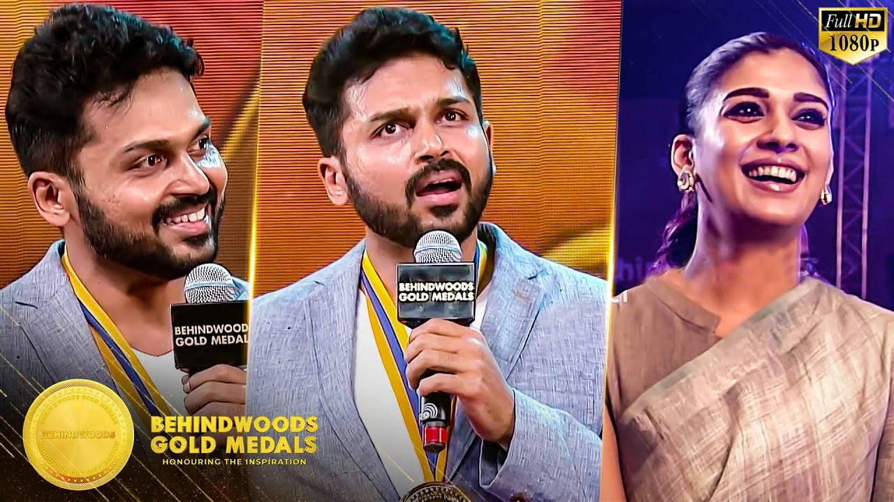 Download Karthi's on Stage LIVE Singing Performance for his Daughter & Special Speech in BGM 2018