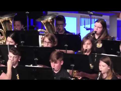 """Antonia Middle School Spring Concert JV Band """"SLINGSHOT"""""""