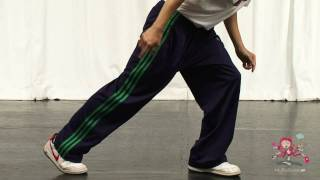 Dance:  Body Wave Hip Hop Dance Move
