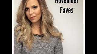 November Favorites! Thumbnail