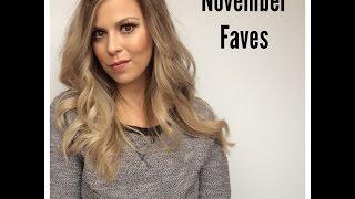 November Favorites! Thumbnail