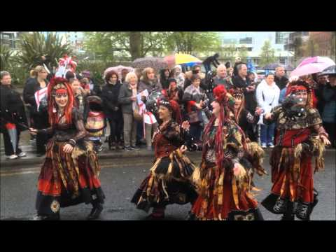 Manchester's 2016 St George's Day Parade