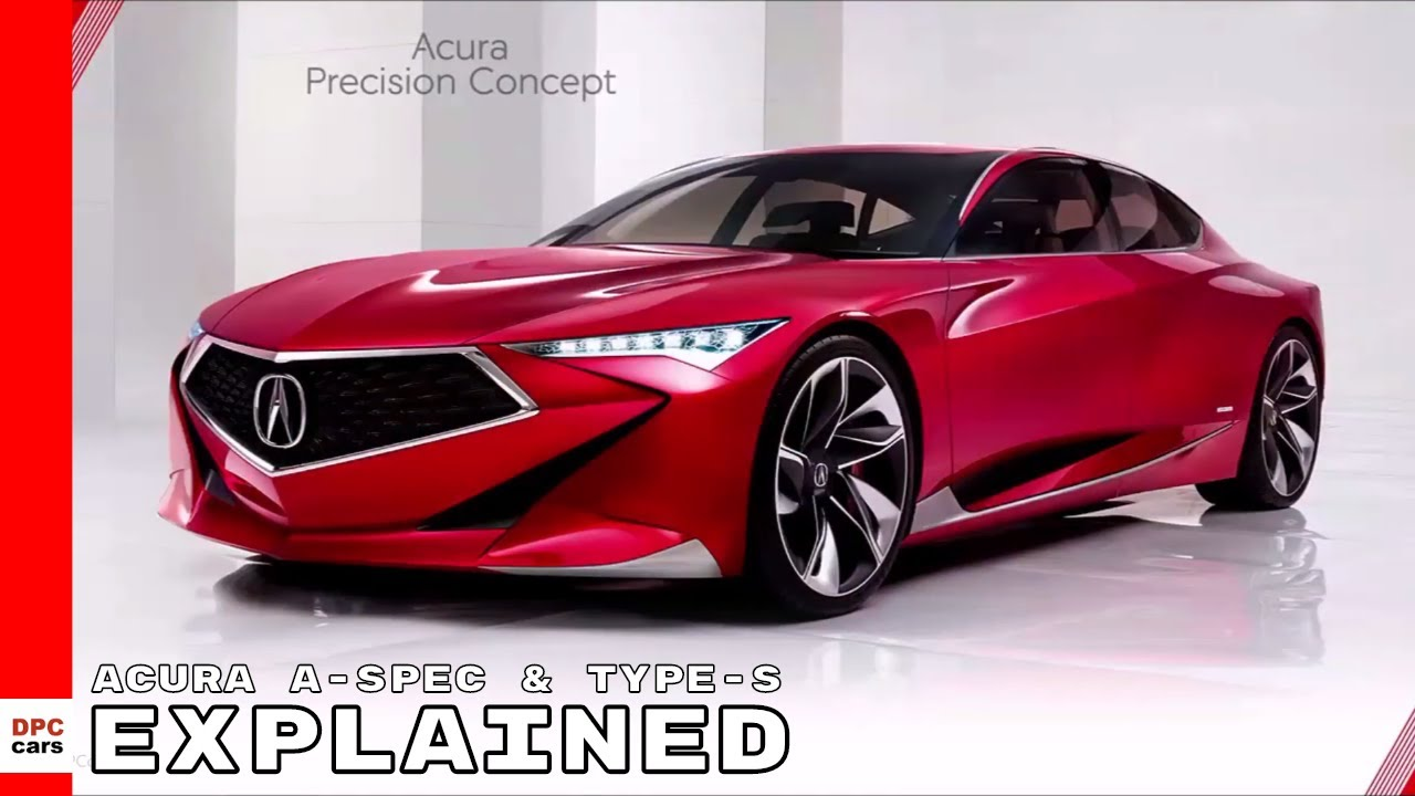 Acura A Spec Type S Explained