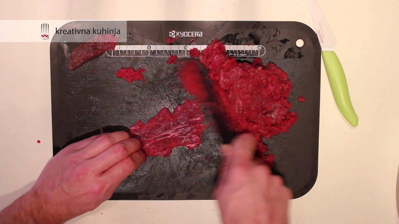 Tatarski biftek - YouTube