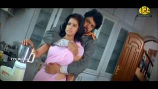 sathya krishna hot boob press slowmotion