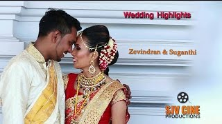 Malaysian Indian wedding Highlights 2016, Zevindran + Suganthi
