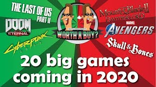 20 Big Games coming in 2020