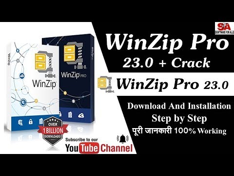 WinZip Pro 23 0 { FULL ACTIVATED} With Crack 100% Working IN HINDI