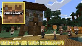 Mencoba game uji coba minecraft screenshot 4