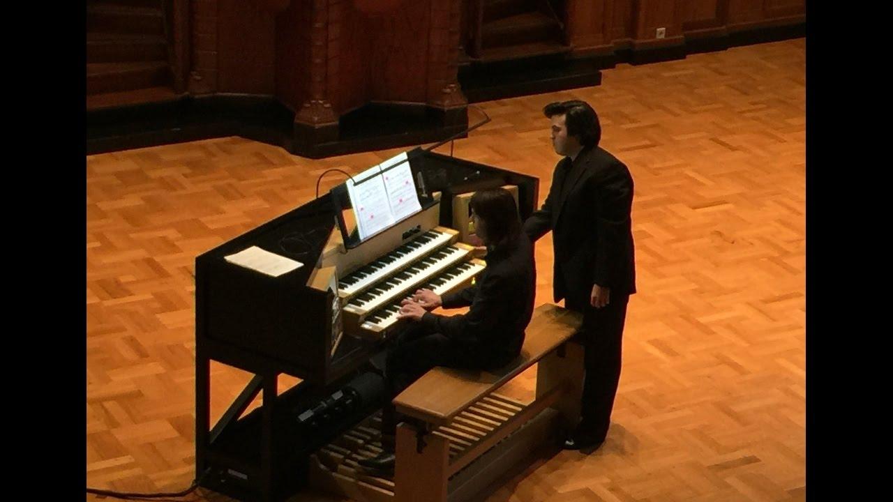 Max Reger: Prelude in D Minor, Op. 65 (Nicholas Papadimitriou, Sauer Organ, Orgelpark)