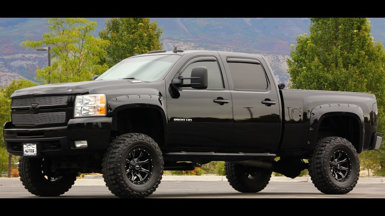 2008 Chevy Silverado Lifted >> 2008 Chevy Silverado 2500hd 4x4 Z71 Ltz Duramax Diesel Lift Autos