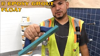 #How To Do #Epoxy Grout | #CEG 100% Solids | Simple Tutorial | Be Nice SUBSCRIBE 😎
