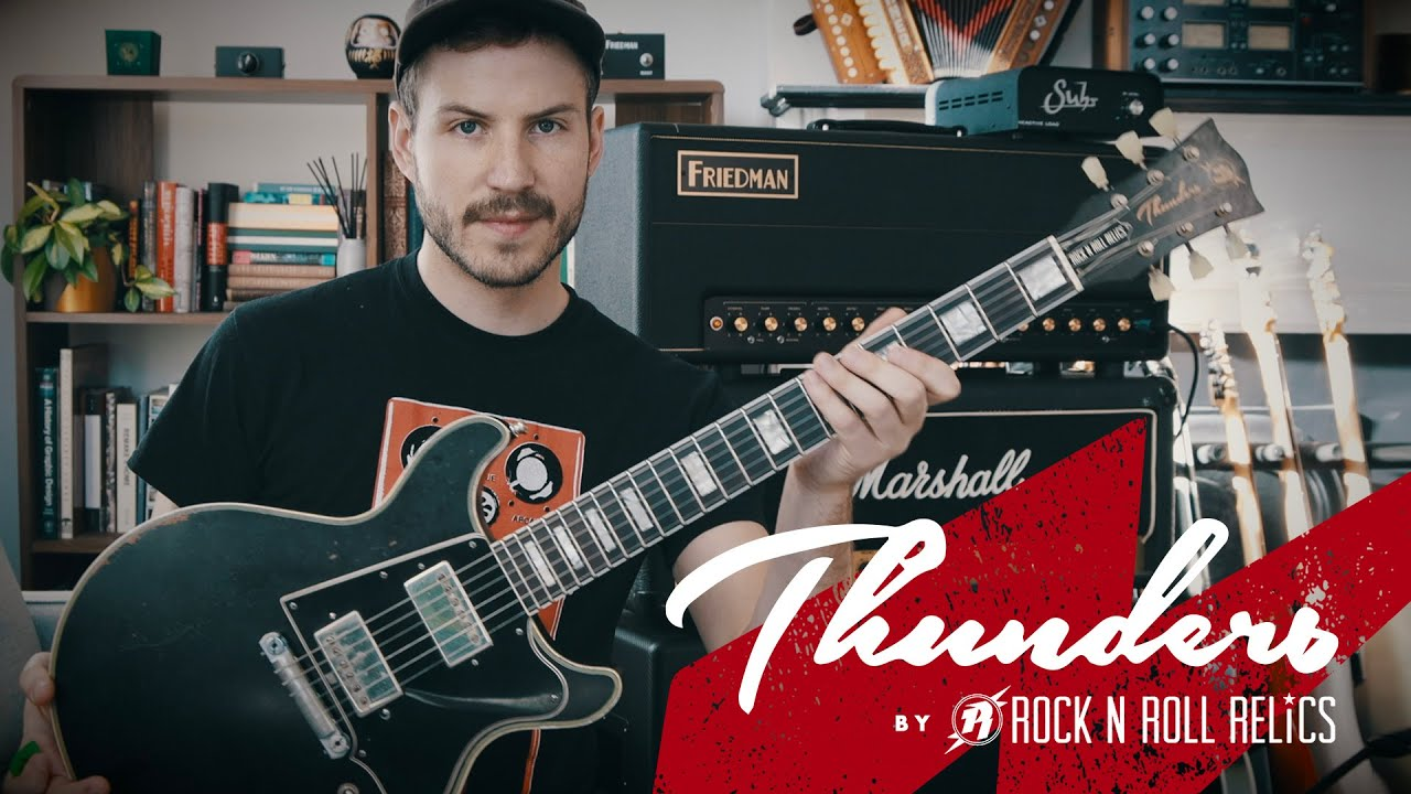 Download Rock N Roll Relics Thunders Custom - Zach Wish Review
