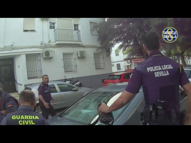 La detención policial en Los Remedios tras una espectacular persecución