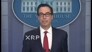 Treasury Secretary Confirmed It's #0doubt Time For Ripple And XRP