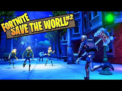 Fortnite Zombies | Save The World Ep 2: Flying Van (Fortnite PVE Campaign)