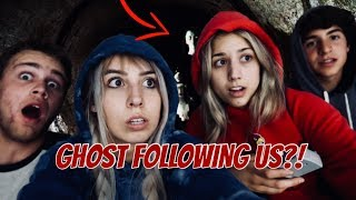 ouija board in the haunted tunnel