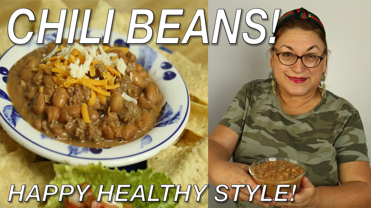 Chili Beans with Ground Beef | My Sister's Recipe