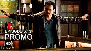 The Vampire Diaries 5x19 Promo - Man on Fire [HD]