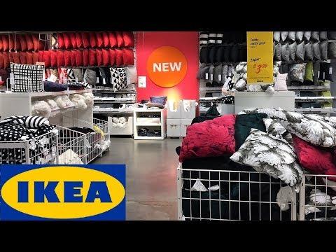 IKEA SPRING SUMMER PILLOWS OUTDOOR HOME DECOR SHOP WITH ME SHOPPING STORE WALK THROUGH 4K