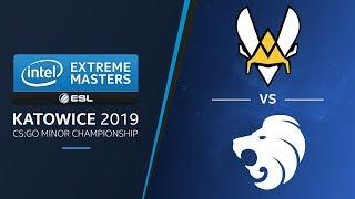 CS:GO - Vitality vs. North [Mirage] Map 1 - LB Final - IEM Katowice EU Minor 2019