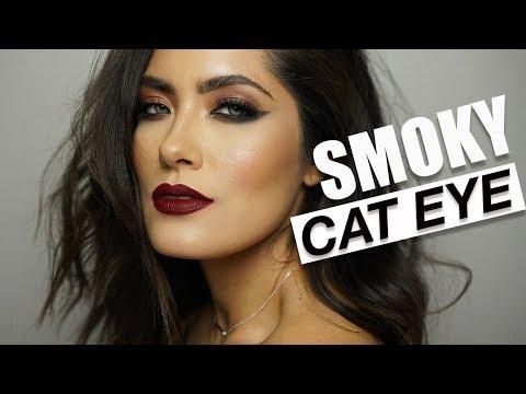Smoky Cat Eye Makeup Tutorial | Melissa Alatorre thumbnail