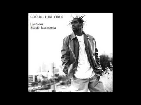Coolio -  I Like Girls (Live from Skopje, Macedonia)