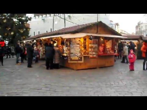 Tallinn's  winter market,  Estonia.