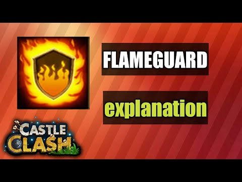Castle Clash | Guide For Flame Guard Talent
