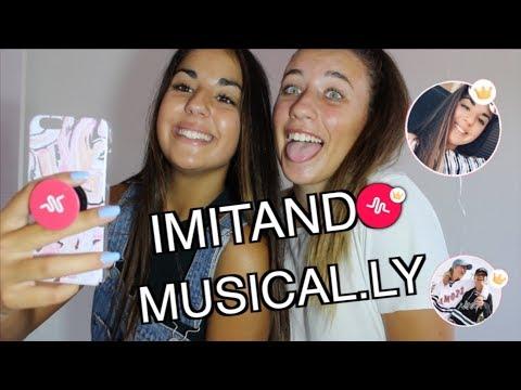 IMITANDO MUSICAL.LYS DE GEMELAS/AMIGAS.