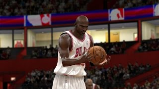 NBA 2K10 - 96-97 Michael Jordan - Random Highlights - PC MOD - HD