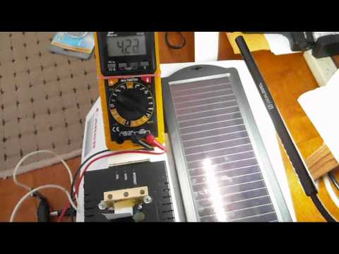 Regenerative solar AC rechargeable usb power pack lighting pt 3