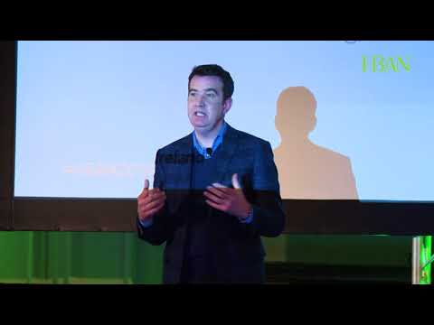 Mark Little at the HBAN All-Island Business Angel Conference 2018