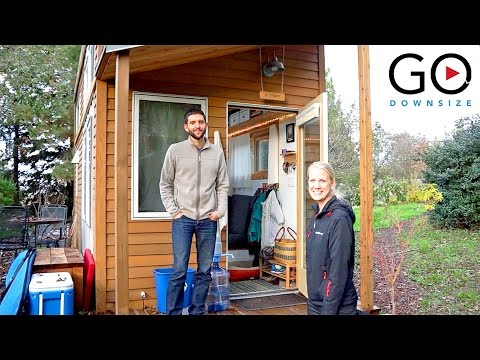 Tiny House Living | Guided home tour with interior design ideas (Alek Lisefski)
