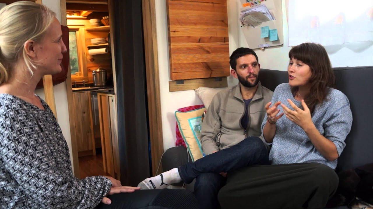 Alek Lisefski Tiny House tiny house living | guided home tour with interior design
