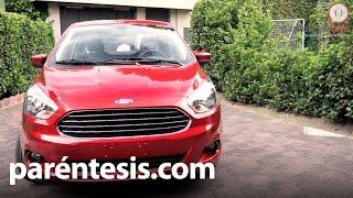 Nuevo Ford Figo 2016, prueba de manejo en español