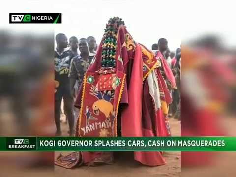 TVC Breakfast Jan. 5th 2018 | Kogi Governor splashes cars, c